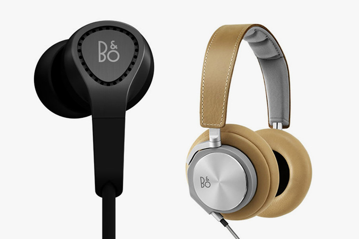 BeoPlay H3 & H6 Headphones