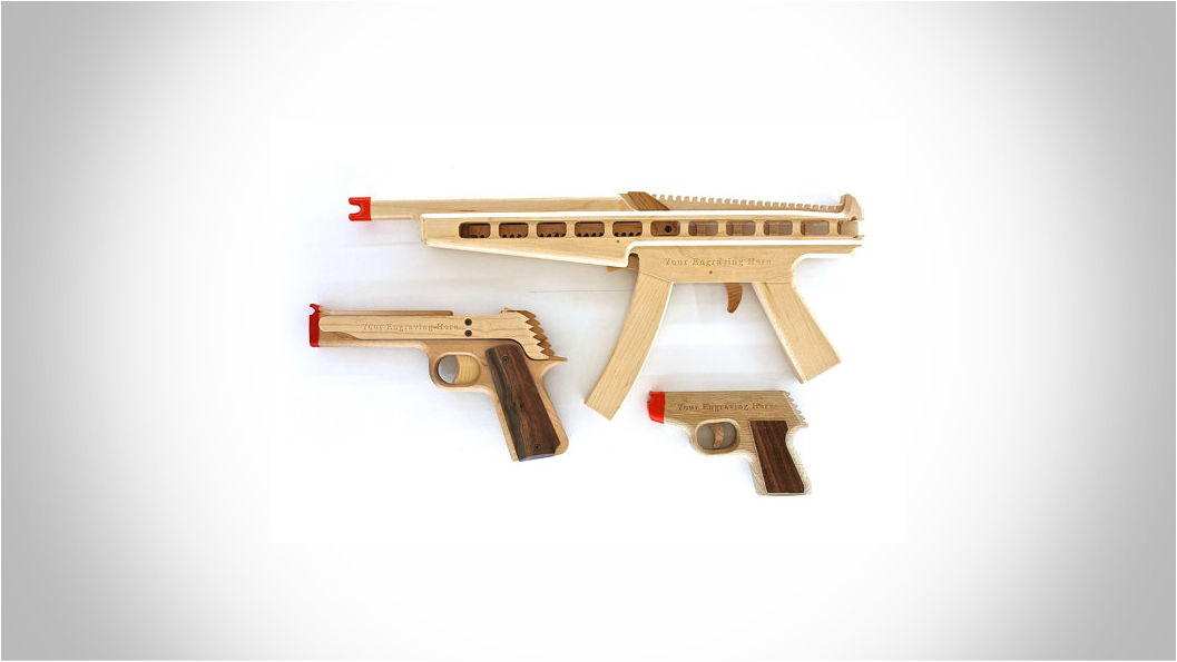 ELASTIC PRECISION CUSTOM RUBBER BAND GUNS