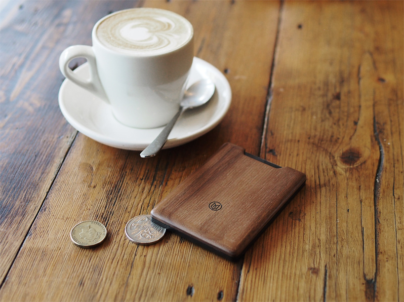 The union wood wallet