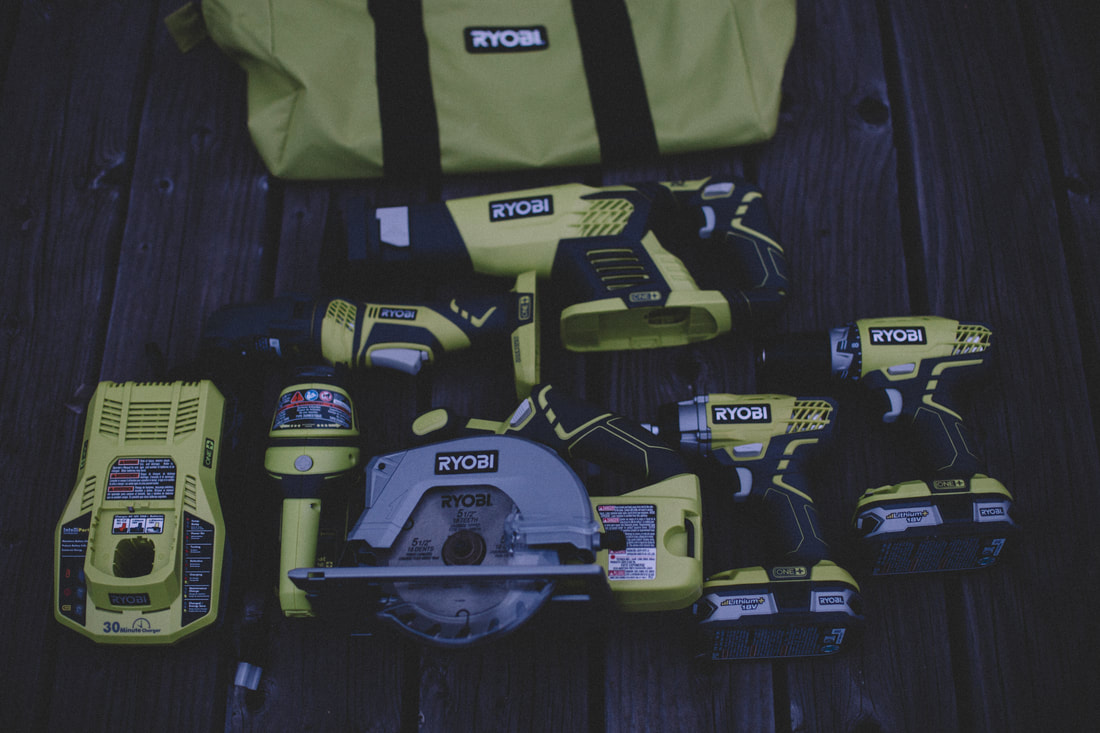 Ryobi 18v 6 piece Lithium Combo Kit Review