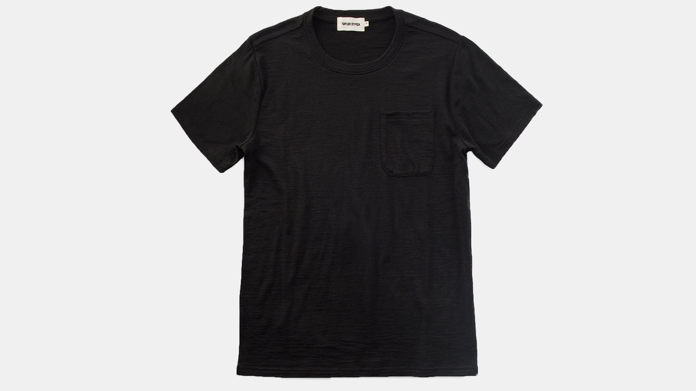 THE CREWNECK POCKET TEE - ​TAYLOR STITCH