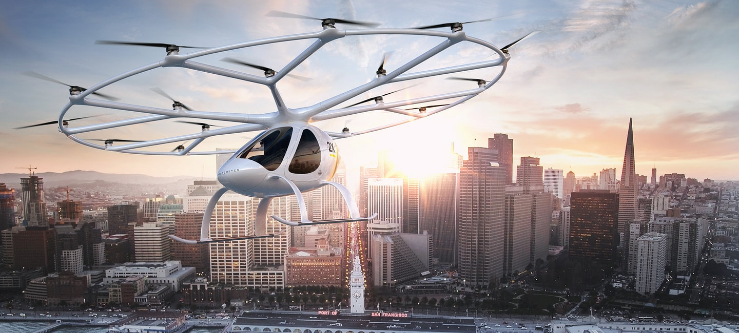 VOLOCOPTER 2X Concept